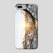 Sun Over the Horizon - Phone Case by Alex Tonetti