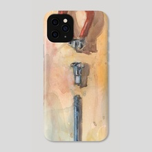 Spoke Prep - Phone Case by Roderick De Jesus