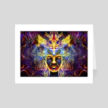 Analyse the patterns - Art Card by Louis Dyer