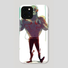 Drax The Destroyer Walkman Adventures - Phone Case by Patrycja Cmak