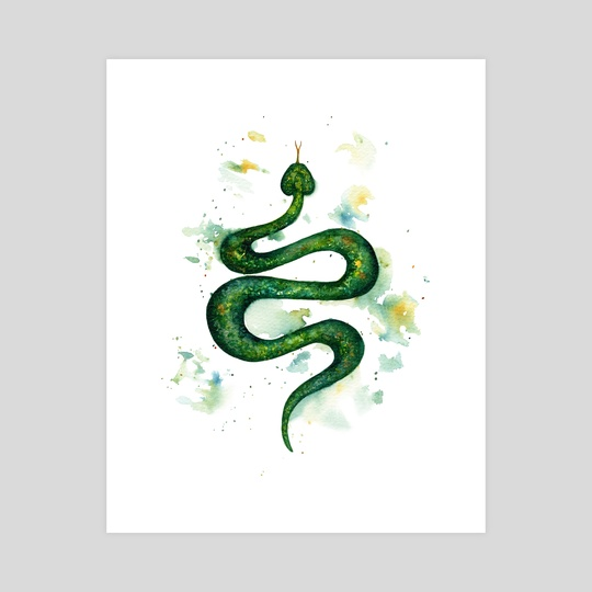 Sap Snake by Ilse Åsbakk