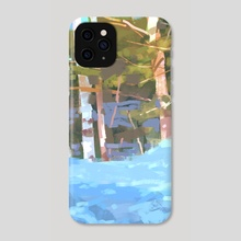 The Woods - Phone Case by Carolyn Arcabascio