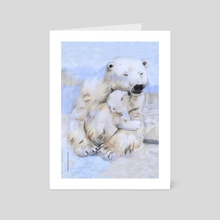 Mama Bear - 3. - Art Card by Fanitsa Art
