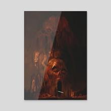 Fallen Order - Acrylic by Rafał Rola