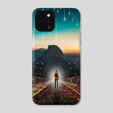 I Am A Shooting Star - Phone Case by Mike Soo