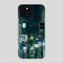 Golden Gai, Tokyo - Phone Case by Petalo Pelnar