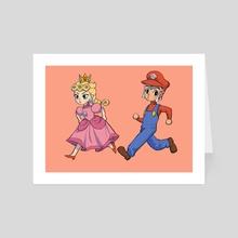 Super Mafioso - Art Card by TARO
