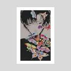 f e i - Art Print by oyouun