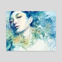 November - Canvas by Anna Dittmann