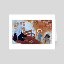 At Grandma's House - Art Card by Holy Aphordite