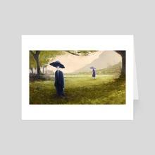 Sleepy mushroom - Art Card by Ricard Cendra