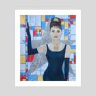 Audrey Hepburn - Art Print by Julia Khoroshikh