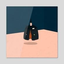 Wizard Callumn* - Acrylic by Dale Crosby-Close