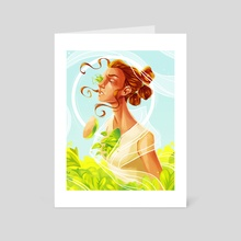 Rey of Sun - Art Card by Alexa Eve