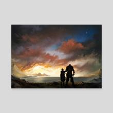 Beginnings - Canvas by Galactic Jonah