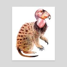 meerkatCONDOR - Canvas by Justin DeVine