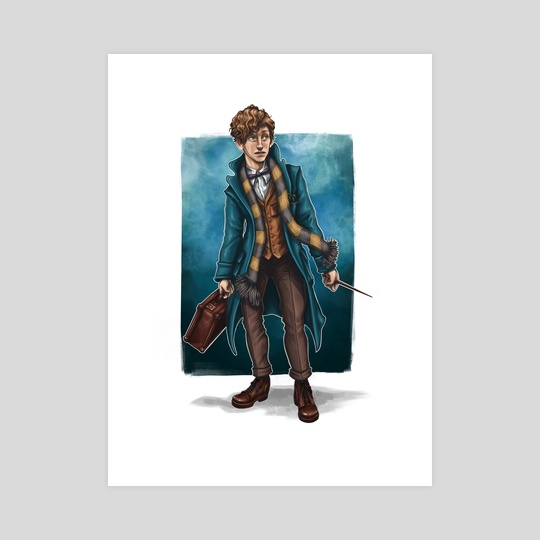 Newt Scamander by Georgia Collins