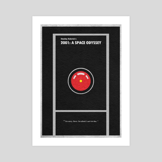 2001: A Space Odyssey by Deniz Akerman