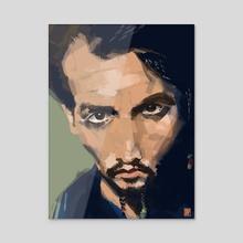 Johnny - Acrylic by Stefano Trucco