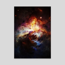 Colorful Universe - Canvas by Andi GreyScale
