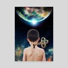 The Key - Canvas by Vitali Pikalevsky