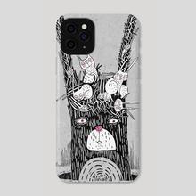 If Rabbits Grew On Trees - Phone Case by Yulia Ruditskaya