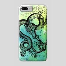 Summer Dragon - Phone Case by Melissa D'Orazio