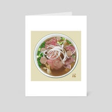 Pho Bo - Art Card by Itadaki_Yasu