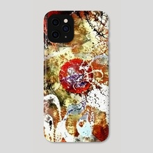 Abstract painting - Phone Case by Bruce Rolff