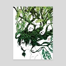 Mochigiri Tree - Canvas by Ou-ren