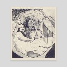 Good sex - Canvas by Marcos Villalva