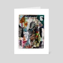 efflux - Art Card by allison anne