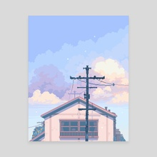 Heartstrings - Canvas by merrigo