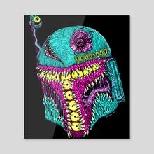 Monster Fett - Acrylic by Robert Israel