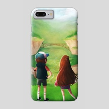 Gravity Falls Noon - Phone Case by Kaitlyn