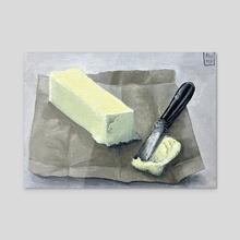 One Tbsp Butter - Acrylic by Anne Pennypacker
