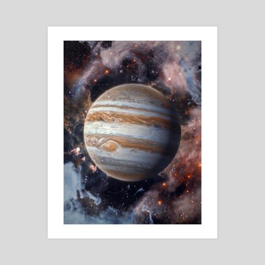 Jupiter by Marischa Becker