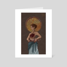Saint Agatha - Art Card by Foolish Mortal