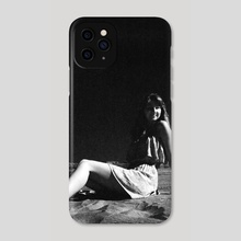 The Woman on the Moon - Phone Case by Benjamin Fauvel