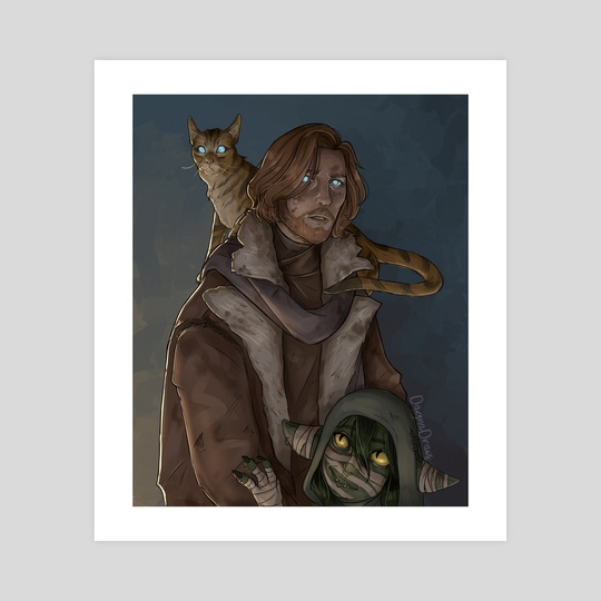 Caleb, Frumpkin and Nott by Dagna
