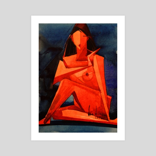 "Memories | Nude cycle ""Triangle"" by Anri Laran"