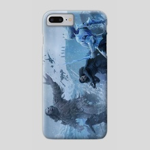 Jon snow battle - Phone Case by Joshua Cairós