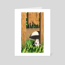Foongus Fence - Art Card by Daniel Swain