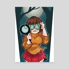 Velma - Canvas by Luke Thompson