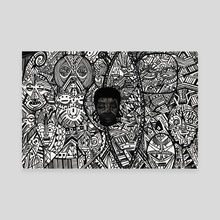 Identity - Canvas by Cedric  Regis