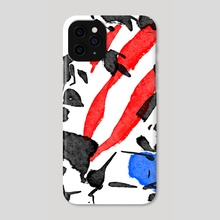 American Punk No.1 - Phone Case by kevin mccall