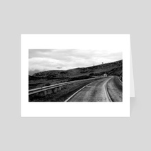Road. - Art Card by minkunoe