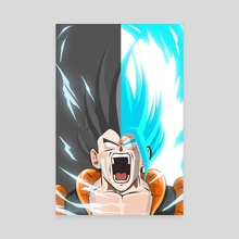 SSGB Vegeto X Gogeta  - Canvas by Kode Subject