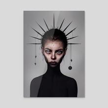 Scorpio - Acrylic by Laura H. Rubin