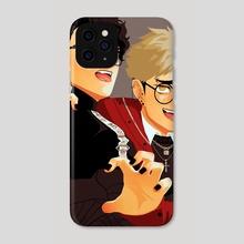 Sakusa & Atsumu - Phone Case by ajifrying